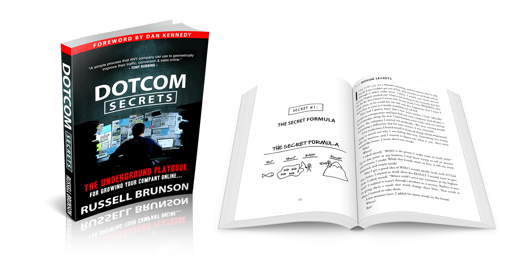 Get the dotcom secret book for free Russell Brunson